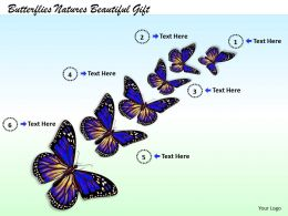 0514 Butterflies Natures Beautiful Gift Image Graphics for PowerPoint