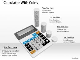0514 Calculate All Financial Results Image Graphics For Powerpoint