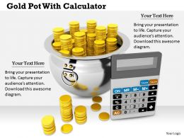 0514 Calculate Your Money Savings Image Graphics For Powerpoint