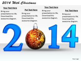 0514 Celebrate Christmas With New Year Image Graphics For Powerpoint