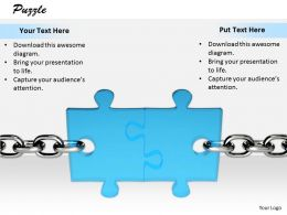 0514_chain_on_both_sides_of_puzzle_image_graphics_for_powerpoint_Slide01