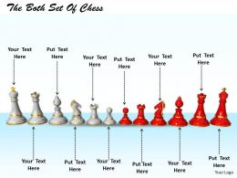 0514 Chess Teams In Front Of Each Other Image Graphics For Powerpoint