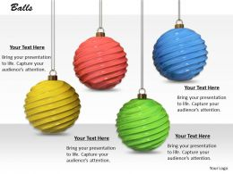 0514 Christmas Decorations Hanging Balls Image Graphics For Powerpoint