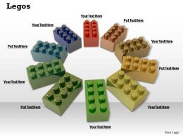 0514 Circle Of Lego Blocks Image Graphics For Powerpoint
