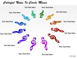 0514 Circle Of Musical Nodes Image Graphics For Powerpoint