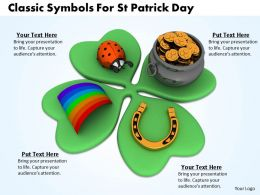 0514 Classic Symbols For St Patrick Day Image Graphics For Powerpoint