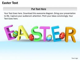 0514 Colorful Easter Egg Graphic Image Graphics For PowerPoint
