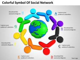 0514 Colorful Symbol Of Social Network Image Graphics For Powerpoint