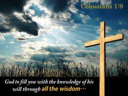 0514 Colossians 19 Through All The Wisdom PowerPoint Church Sermon