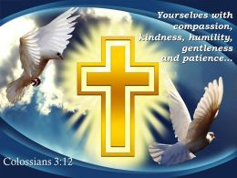 0514 Colossians 312 Yourselves With Compassion Kindness Humility Gentleness Powerpoint Church Sermon