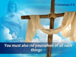 0514 Colossians 38 You Must Also Rid Powerpoint Church Sermon