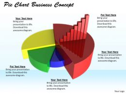 0514 Compare Business Data In Pie Chart Image Graphics For Powerpoint
