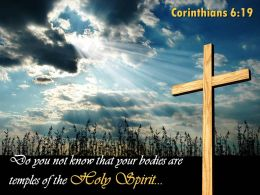 0514 Corinthians 619 Temples Of The Holy Spirit Powerpoint Church Sermon
