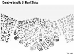 0514 Creative Graphic Of Hand Shake Powerpoint Presentation