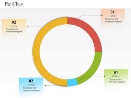 0514 Data Driven Circular Pie Chart Powerpoint Slides