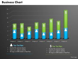 0514 Data Driven Financial Business Chart Powerpoint Slides