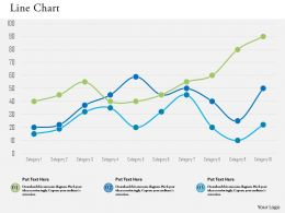 0514 Data Driven Line Chart Diagram Powerpoint Slides