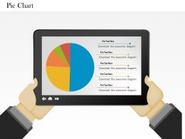0514 Data Driven Pie Chart Graphic Powerpoint Slides