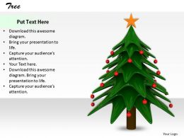 0514 Decorate Tree With Christmas Ornaments Image Graphics For Powerpoint