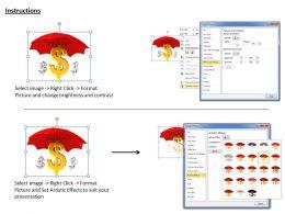 0514_dollar_symbol_under_umbrella_image_graphics_for_powerpoint_Slide03