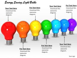 0514 Energy Saving Light Bulbs Image Graphics For Powerpoint