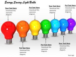 0514 Energy Saving Light Bulbs Image Graphics For Powerpoint