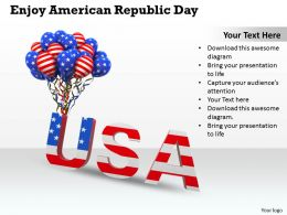 0514 enjoy american republic day Image Graphics for PowerPoint