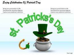 0514 Enjoy Celebration Of Patrick Day Image Graphics For Powerpoint