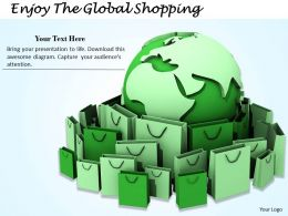 0514 enjoy the global shopping Image Graphics for PowerPoint