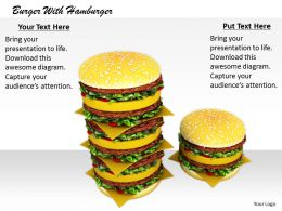 0514 Enjoy Your Hamburger Meal Image Graphics For Powerpoint
