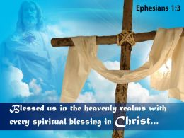 0514 Ephesians 13 Every spiritual blessing in Christ PowerPoint Church Sermon