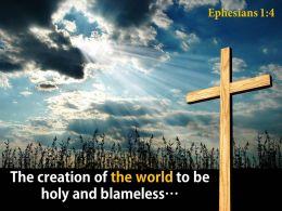 0514 Ephesians 14 The Creation Of The World PowerPoint Church Sermon