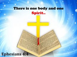0514 Ephesians 44 There Is One Body Powerpoint Church Sermon