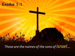 0514 Exodus 11 The Sons Of Israel Powerpoint Church Sermon