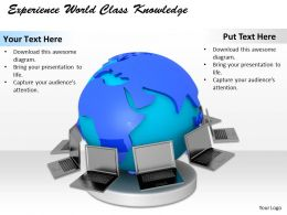0514 Experience World Class Knowledge Image Graphics For Powerpoint