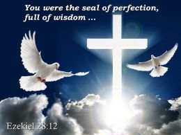 0514 Ezekiel 2812 You were the seal of perfection PowerPoint Church Sermon