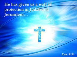0514 Ezra 99 He Has Given Us PowerPoint Church Sermon