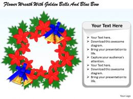 0514_flower_wreath_with_golden_bells_image_graphics_for_powerpoint_Slide01