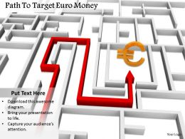 0514 Follow The Path Of Euro Earning Image Graphics For Powerpoint 1