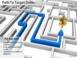 0514 Follow The Path Of Finance Growth Image Graphics For Powerpoint 1