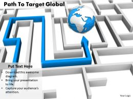 0514 Follow The Path Of Global Business Image Graphics For Powerpoint