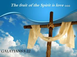 0514 Galatians 522 The fruit of the Spirit PowerPoint Church Sermon