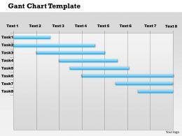 0514 Gantt Chart Template Powerpoint Presentation