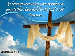 0514 Genesis 121 Your Father Household To The Land Powerpoint Church Sermon