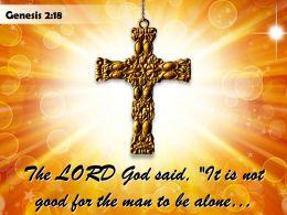 0514 Genesis 218 The LORD God Said Powerpoint Church Sermon