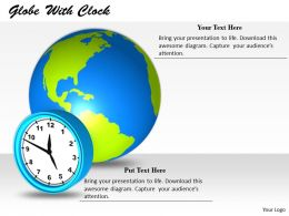 0514 Global Time Zone Map Image Graphics For Powerpoint