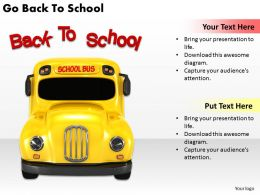 0514 Go Back To School Image Graphics for PowerPoint