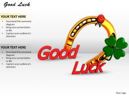 0514 Good Luck Image Graphics For Powerpoint