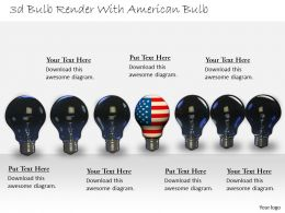 0514_graphic_of_3d_bulbs_with_us_flag_image_graphics_for_powerpoint_Slide01