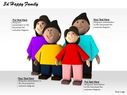 0514 graphic of happy family Image Graphics for PowerPoint